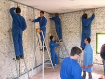 ремонт стен помещений Славгород
