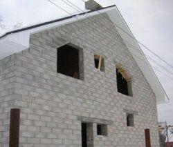 Качественный и недорогой дом из пеноблоков, кирпича, бруса в городе Славгород, можно заказать в нашей компании профессиональных строителей СтройСервисНК