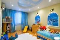 Отделка детской комнаты в Славгороде