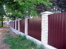 Строительство заборов, ограждений в Славгороде и пригороде, строительство заборов, ограждений под ключ г.Славгород